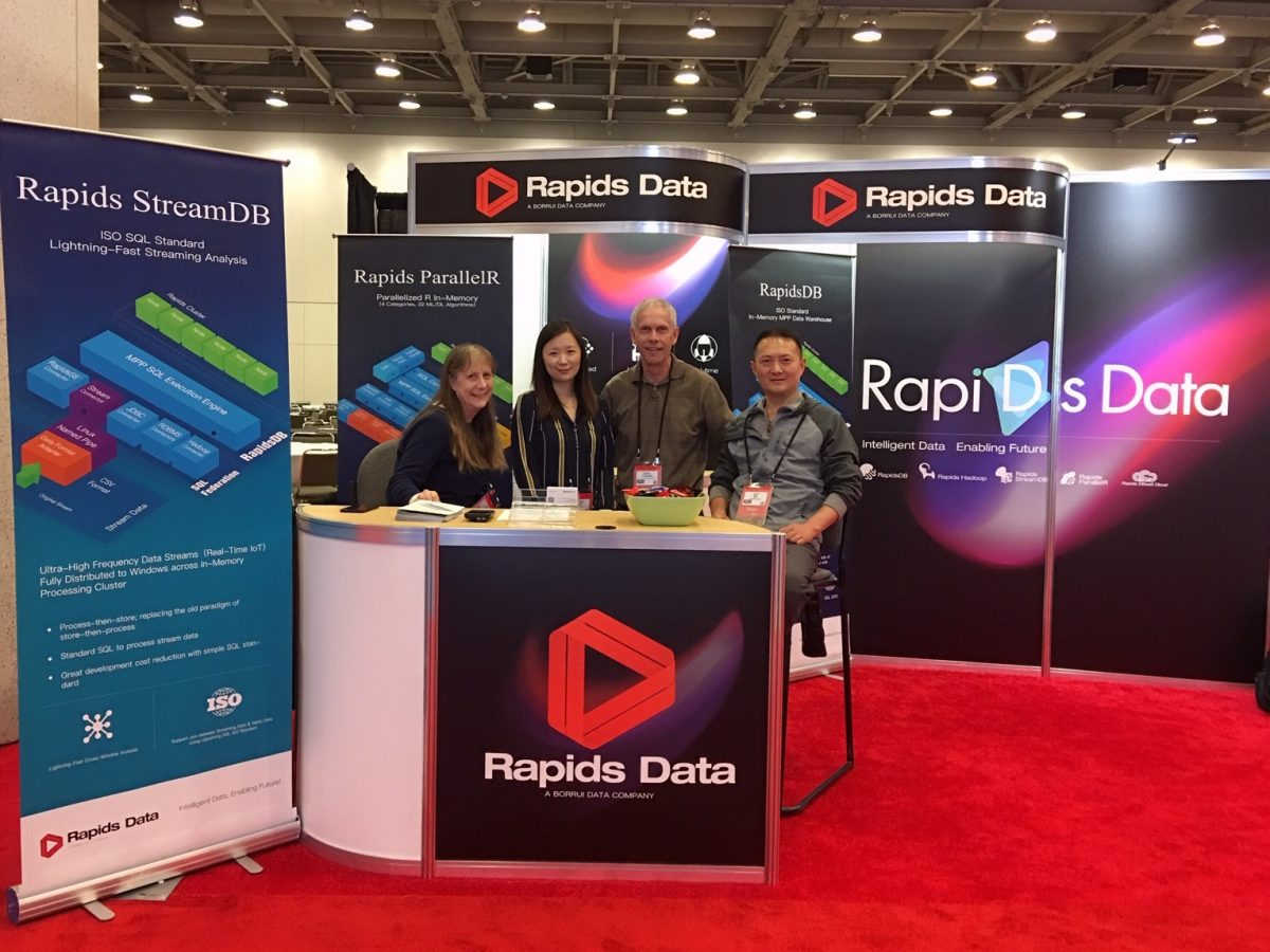 Company News: Rapids Data Attended 2019 Strata Data Conference in San Francisco